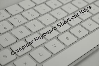 Keyboard Shortcuts Keys for Popular Programs