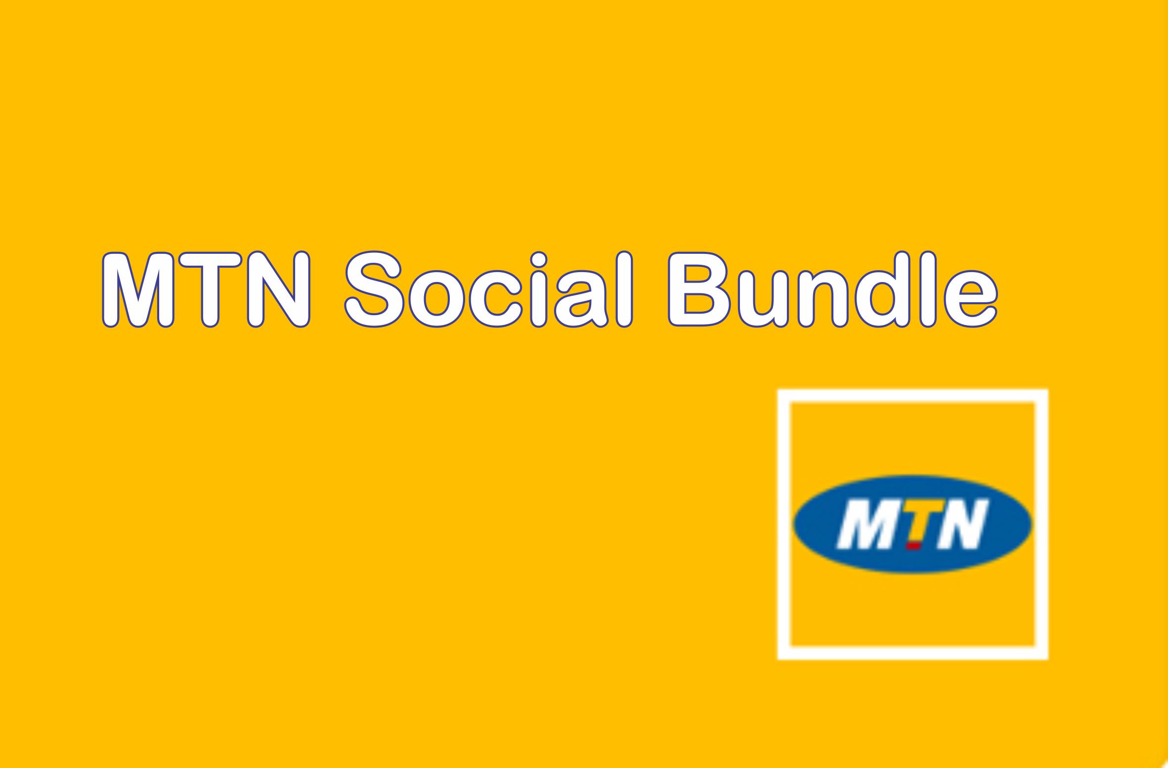mtn social bundles