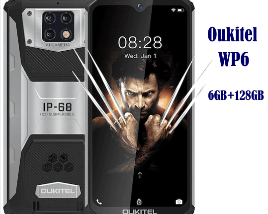 Oukitel WP6 Price and Full Specifications