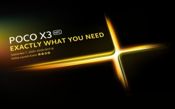 Poco x3 announcement