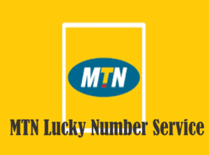MTN lucky number service