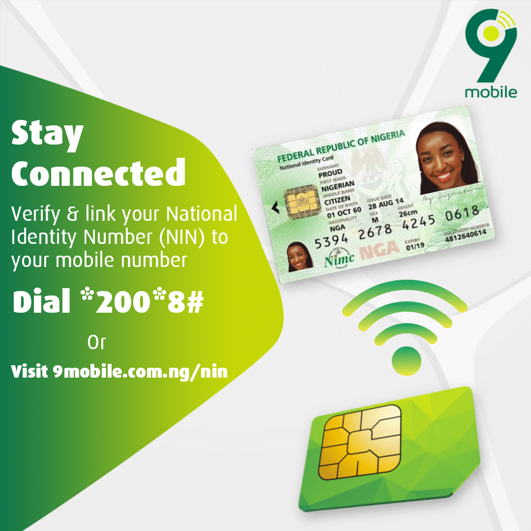 9mobile Launches Intelligent Portal for Instant National Identification Number (NIN) Verification