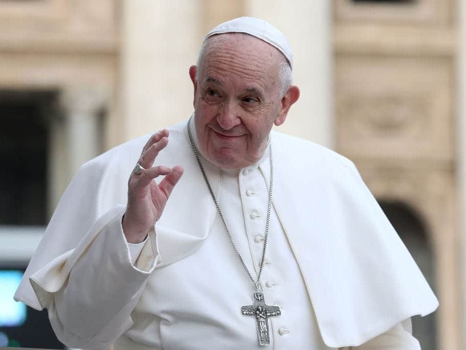 Pope Francis To Receive COVID-19 Vaccine Next Week