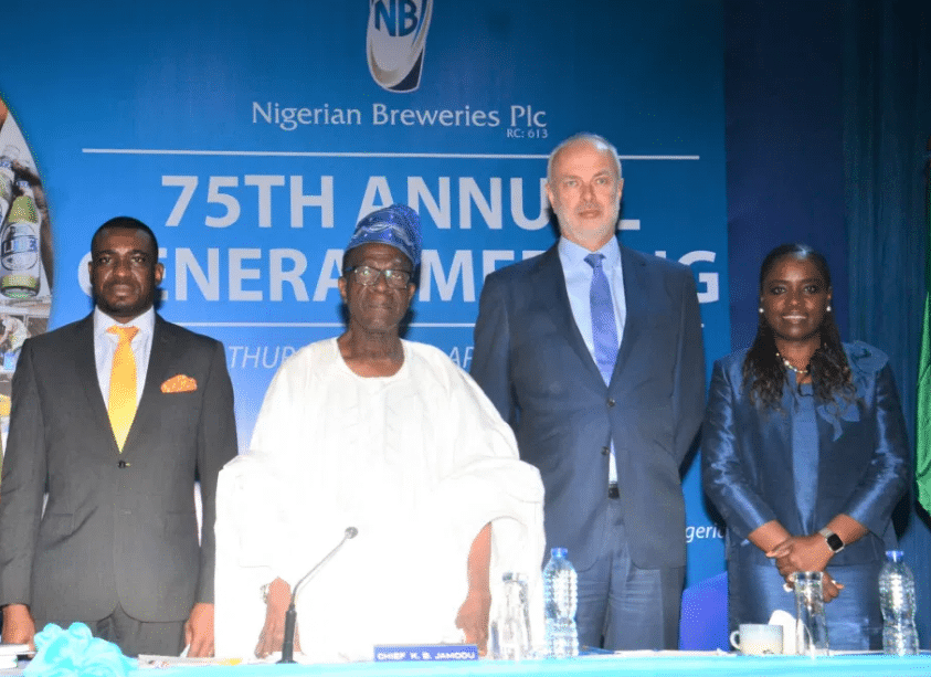 Nigerian Breweries Shareholders approve N7.5 billion dividend payout