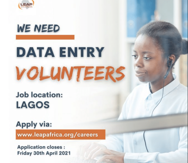 Leap Africa Volunteer for Young Nigerians - How to Apply