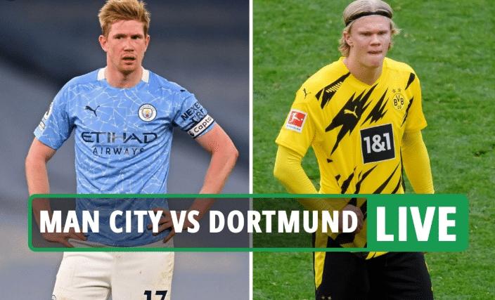 Watch Manchester City Vs Borussia Dortmund Live Streaming