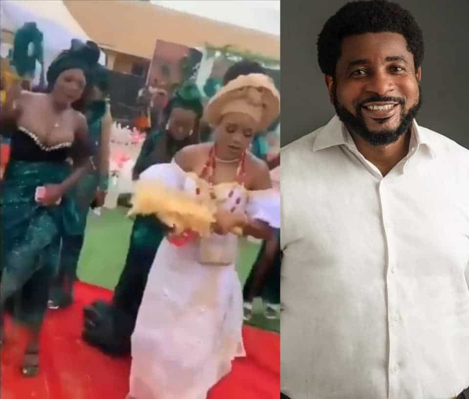 Relationship Pastor and Clergyman Okonkwo Kingsley Talks Against The Viral Bridesmaid Who Outshined The Bride In Her Wedding Using Her Big Boobs As A Tool.