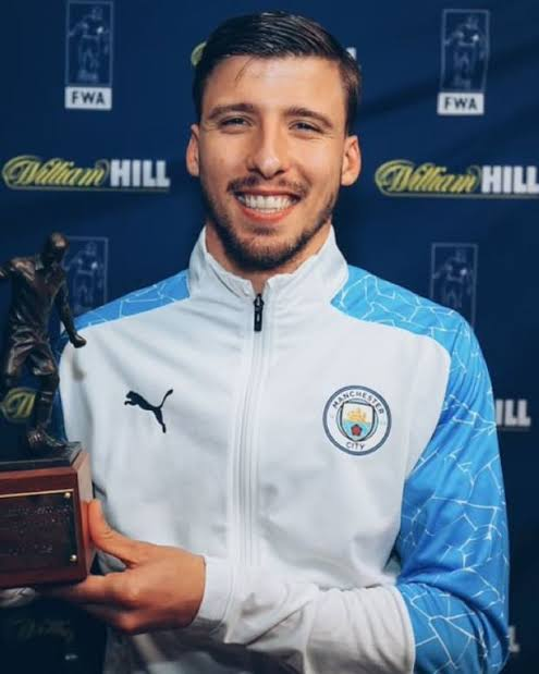 Manchester City's Ruben Dias Voted FWA Footballer of the Year