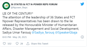 Npower 36 States Reps Slam Buhari's Minister