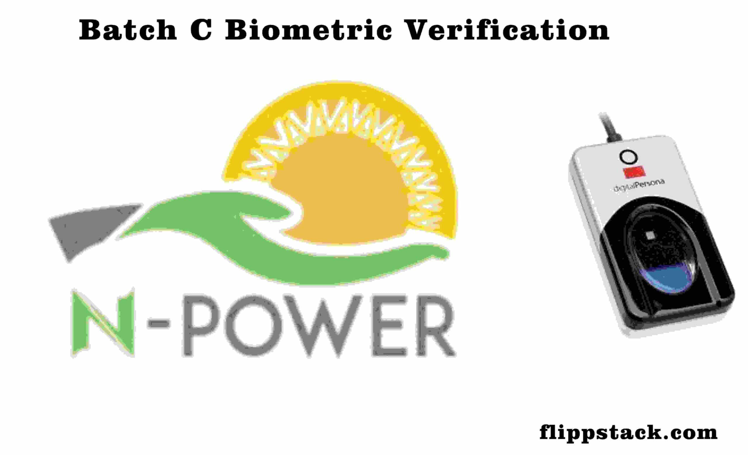 NPower Update: How to know if your Biometric Capturing is Successful