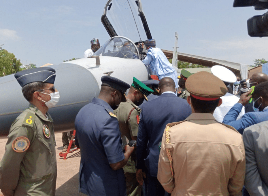 President Buhari Launches New JF-17 Fighter Jets