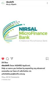 NMFB Sends New Directive To AGSMEIS Loan Applicants
