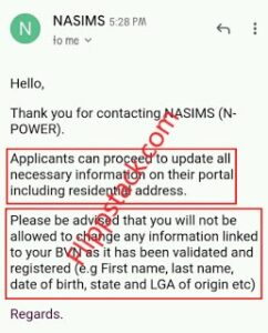 NASIMS Confirms Npower Batch C Stream 1 Deployment to commence this week