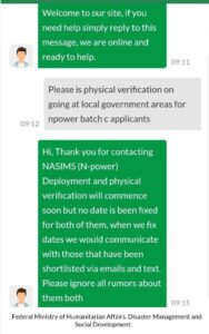 Latest Npower Batch C Update On Deployment and Physical Verification