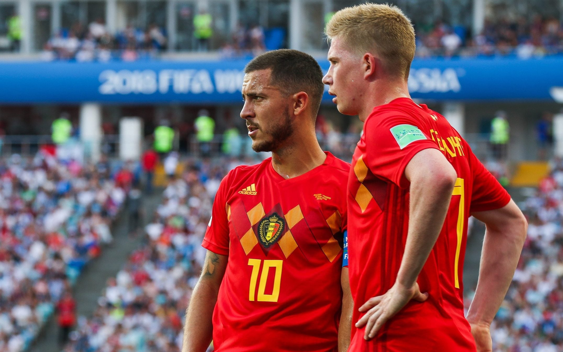 Eden Hazard and Kelvin Debruyne Injury Update Ahead of Italy Match