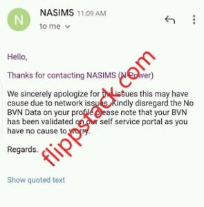 NASIMS Addresses Issue Of No BVN Data On Beneficiaries Dashboard