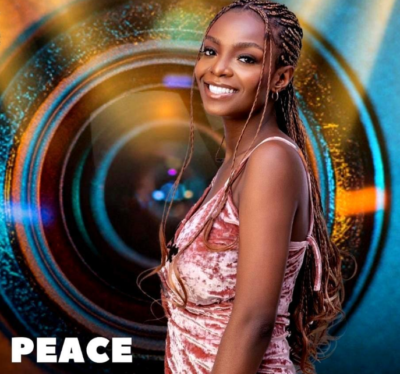 2021 BBNaija: Peace Becomes First Head Of House