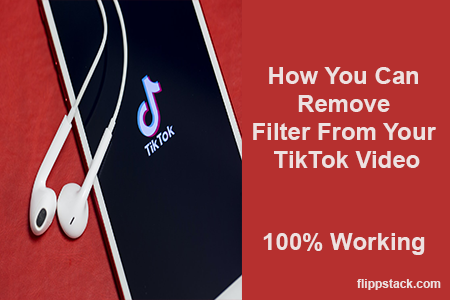 How You Can Remove Filter From Your TikTok Video
