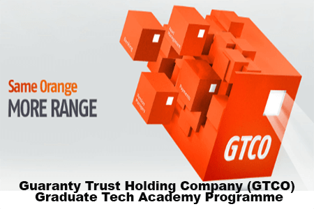 Guaranty Trust Holding Company (GTCO) Graduate Tech Academy Programme