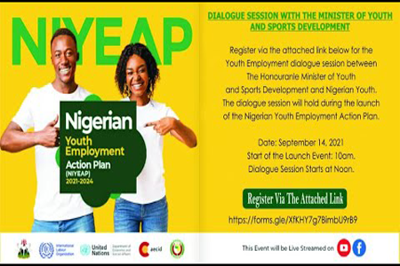 FG To Launch Nigerian Youth Employment Action Plan To Tackle Unemployment