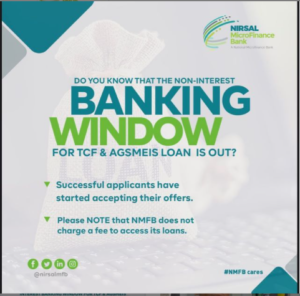 NMFB Starts Shortlisting Applicants For The New Non-Interest Banking Window Loan