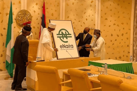 BREAKING: President Buhari Officially Launches e-Naira