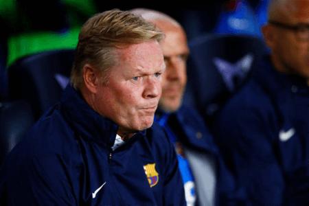 Official: Barcelona Sacks Ronald Koeman As Head Coach