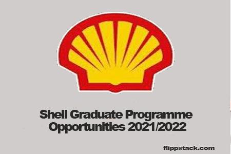 Shell Graduate Programme Opportunities 2021/2022